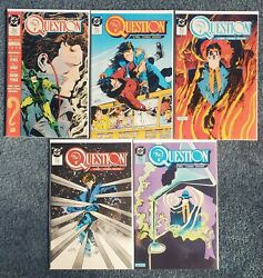The Question Lot 3-6 And Annual 1-2 6 Bks Vf/nm