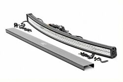 Rough Country 54 Curved Dual Row Cree Led Light Bar W/ Cool White Drl - 72954d