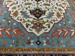 12'x18' New Hand Knotted Luxurious Wool Super Serapi Herizz Oriental Area Rug