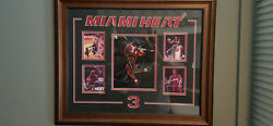 Dwayne Wade Autographed Photo Collage