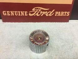 1962 Ford Galaxie 500 Xl Horn Ring Emblem And Chrome Housing Excellent Used
