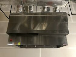 8ft. Type 1 Captive Aire Commercial Restaurant Kitchen Hood-exhaust Blower/mu -