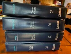 Rare Pfeiffer And Company Library Of Theories And Models - Set Of 4 - Vols. 24-27