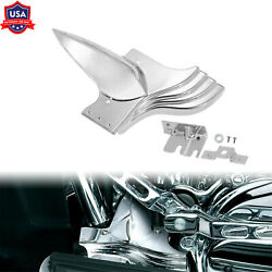 Chrome Lower Front Frame Cover Fit For Harley Touring 1991-2020 Tri Glide 09-13