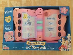Fisher Price Disney My First Princess A-z Storybook Unopened Vintage