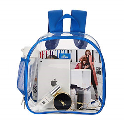 Clear Backpack Stadium Approved Clear Backpack Small for Concer $15.48