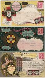 Three Different Seabury And Johnson Medical Advertising Covers