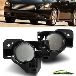For 2009-2015 Nissan Maxima Bumper Driving Smoke Fog Lights Replacement Pair