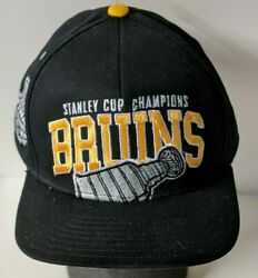 2011 Boston Bruins Stanley Cup Champions Reebok Snap Back Hat New