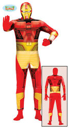 Superhero Iron Costume Bionisch Overalls Men#x27;s