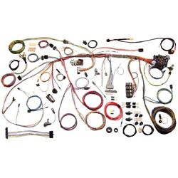 1970 70 Ford Mustang Classic Update American Autowire Wiring Harness Kit 510243