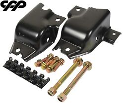 1970-73 Chevy Camaro Cpp Front Leaf Spring Hanger Replacement Kit