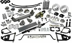 48-52 Ford 1/2 Ton Truck Ultimate Performance Package Mustang Ii Drop Spindles