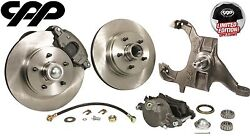 1964-72 Chevy Chevelle El Camino Drop Spindle 12 Disc Conversion Brake Kit