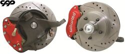 64-72 Chevy Chevelle 2 Drop Spindle 12 Rotor Disc Brake Conversion Kit