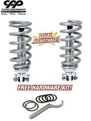 75-79 Chevy Nova Coilover Conversion Kit Double Adjustable Coil Over 350lbs