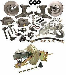 67-70 Chevy C10 Pickup Truck 5 Lug Stock Height Spindle Booster Conversion Kit