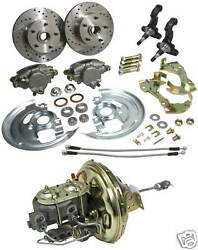 67 68 69 Chevy Camaro Power Disc Brake Conversion Kit Factory Oe Appearance