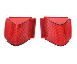 Tail Light Lens Pair 1967 67 Chevelle Malibu 396 Ss Made In Usa Trim Parts