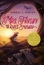 Mrs. Frisby And The Rats Of Nimh Robert C. Oand039brien Hardcover Collectible - Very