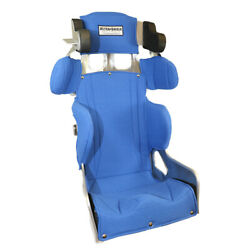 Ultra Shield 16.5 20 Degree Tc Halo Full Containment Racing Seat And Blue Cover