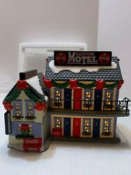 Coca Cola Sleepytime Motel Townsquare Collection Christmas Village Ln