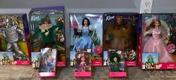 Wizard Of Oz Barbie Full Collector Edition With All Characters