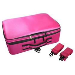 Professional Travel Cosmetic Large Makeup Bag Wash Organizer Case Pouch Storage $31.99