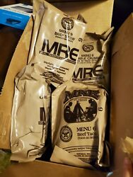 MEALS READY TO EAT US MILITARY MRE MENU YOU PICK THE MEAL BUY MORE SAVE MORE