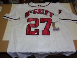 Fred Mcgriff Atlanta Braves,95 Ws Champs Jsa/coa Signed Official Licensed Jersey