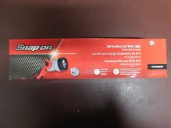 Snap On 18v Cordless Led Work Light Battery And Charger Not Included
