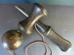Old Wooden Kendama Toys Vintage Miscellaneous Goods At That Time Collection