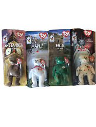 1997 Ronald Mcdonald House Charity Beanie Babies Set Of 4 With 1993 Tush Tag