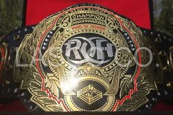Roh Ring Of Honor Wrestling Heavyweight Championship Title Belt