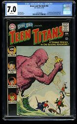 Brave And The Bold 60 Cgc Fn/vf 7.0 White Pages 1st Wonder Girl