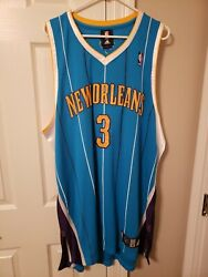 Vintage Chris Paul New Orleans Hornets Size 52 Authentic Adidas Jersey