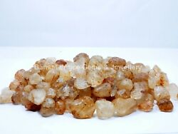 Natural Earth Minded Yellow Crystal Quartz Rough Loose Gemstone Lot 1