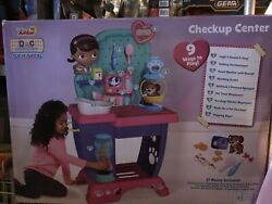 New In Box Doc Mcstuffins Toy Hospital Check Up Center Playset Doctor Patient