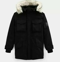Menand039s Nordic Edge Expedition Waterproof Parka Jacket A1xxt