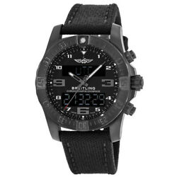 New Breitling Professional Exospace B55 Black Menand039s Watch Vb5510h1/be45-100w