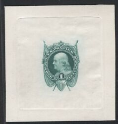 National Bank Note Co. 1c Blue Green Die Essay On India 112-e5c Gd 12/18