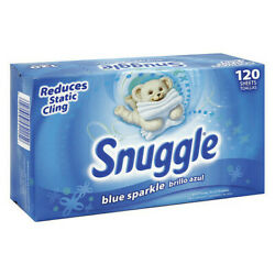Snuggle 45115 Snuggle Box Dryer Sheets 6 Pack 120 Sheets/ Pack