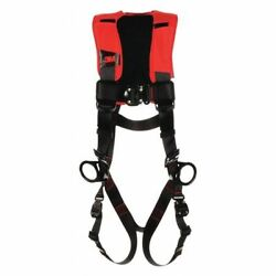 3m Protecta 1161401 Full Body Harness, Vest Style, M/l, Polyester, Black