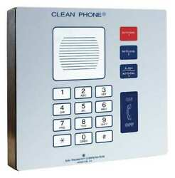 Hubbell Gai-tronics 295-001w Cleanroom Telephone, Cordless, Wall Mount, Gray