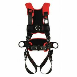 3m Protecta 1161216 Positioning Harness, Vest Style, S, Polyester, Black