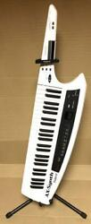 Roland Ax-synth 49-keys White Keytar Synthesizer Cable-free/dedicated Stand