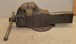Monster 90 Lb Columbian Blacksmith Vise 6 Jaw No 606 Collectible Forge Tool