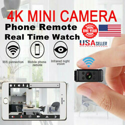 Mini Ip Wireless Wifi Home Security Small Camera Hd 4k Dvr Night Vision Hidden