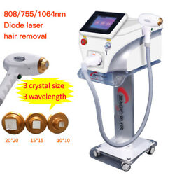 Spa 808nm Diode Laser Hair Removal Machine Body Hair Removal Laser Machines