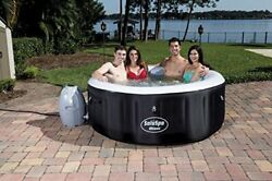 Bestway Saluspa Miami Inflatable Hot Tub 4-person Airjet Spa New Free Shipping